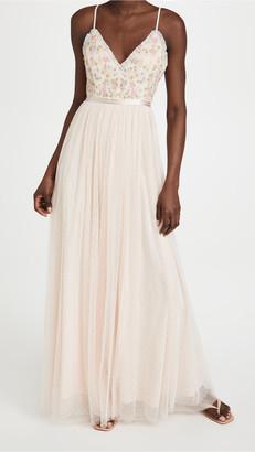 Needle & Thread Emma Ditsy Bodice Cami Maxi Dress