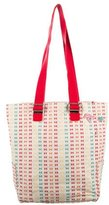 Marc Jacobs Pin-Embellished Woven Tote