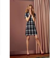 Jessica Women's Mock-Neck Plaid Dress