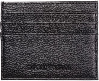 Emporio Armani Space Plein Credit Card Holder