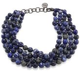 Nest Sodalite 4-Strand Collar Necklace