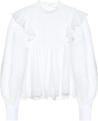 Etoile Isabel Marant Viviana cotton blouse