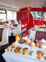 Virgin Experience Days B Bakery Vintage Afternoon Tea Bus Tour For Two In London