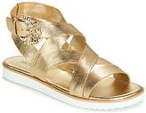 MICHAEL Michael Kors FRIEDA FLAT women's Sandals in Gold