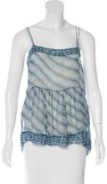 Etoile Isabel Marant Silk Sleeveless Top