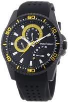 Bruno Banani Men's Watch XL Analogue Rubber Quartz BR22008 Shiva