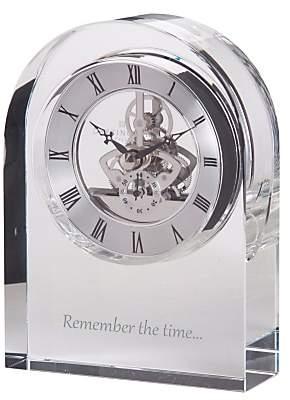 Crystal Small Dartington Crystal Clock
