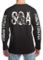 Changes Sons of Anarchy Samcro Forever Mensong Seeve Back T-Shirt |