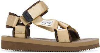 Suicoke Touch Strap Flat Sandals