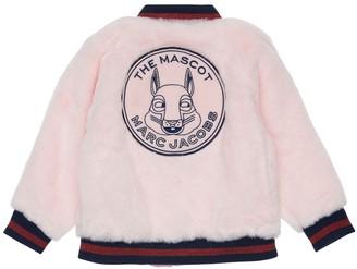 Little Marc Jacobs Faux Fur Bomber Jacket