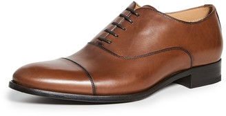 To Boot Forley Flex Tan Cap Toe Shoes