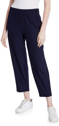Eileen Fisher Lightweight Stretch Crepe Cropped Pants
