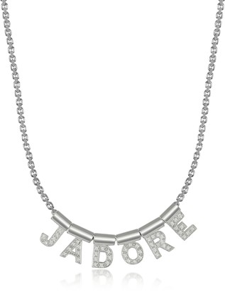 Nomination Sterling Silver and Swarovski Zirconia Jadore Necklace