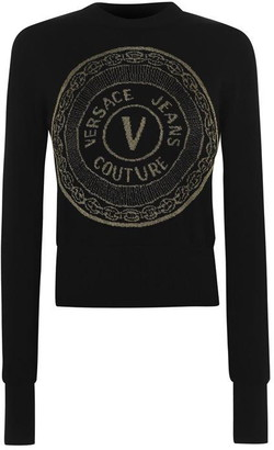 Versace Jeans Couture Round Logo Jumper