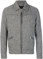 Lanvin lightweight dogtooth jacket - men - Cotton/Viscose/Virgin Wool - 44