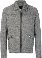 Lanvin lightweight dogtooth jacket