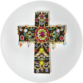 Christian Lacroix Love Who You Want - 'Black Cross' Plate