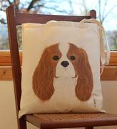 Bird Cavalier King Charles Spaniel Dog Handy Bag