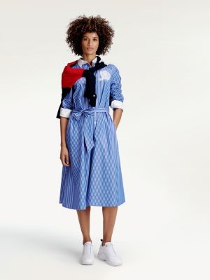 Tommy Hilfiger Tommy Icons Stripe Shirt Dress