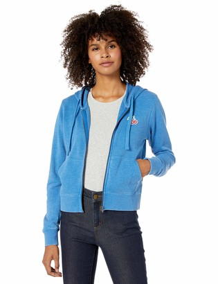 RVCA Junior's Cherries Zip Hooded Sweatshirt