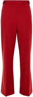 Marni Wool-twill Kick-flare Pants