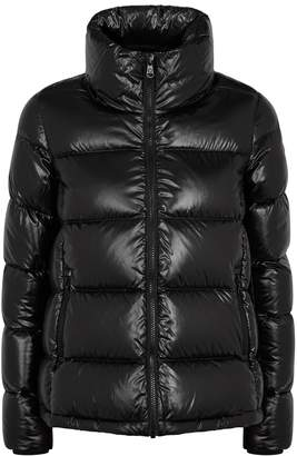 Colmar Black Quilted Shell Jacket