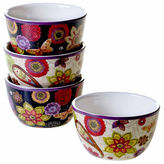 Certified International Coloratura 4-pc. Ice Cream Bowl