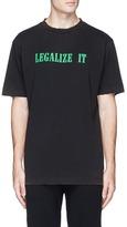 Palm Angels 'Legalize It' print T-shirt