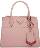Prada Pink Small Galleria Tote