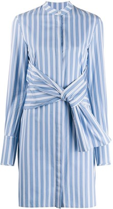 Victoria Victoria Beckham Striped Shirt Dress