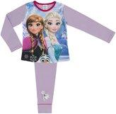 Cartoon Character Products Frozen Girls Pyjamas Various Designs - Age 4- Anna Elsa