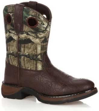 Durango Lil Boys' 8-in. Mossy Oak Break-Up Western Boots