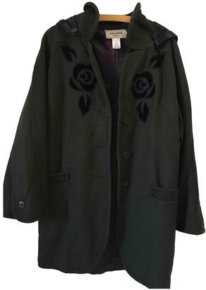 Mila Schon Concept Concept Green Wool Coat for Women