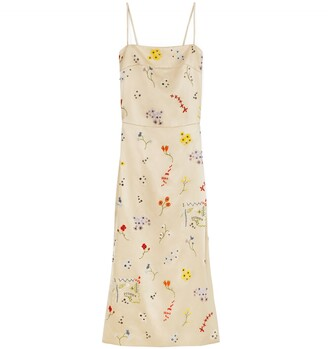 Tory Burch Embroidered Sheath Dress