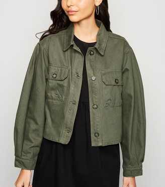 New Look Cropped Lightweight Jacket
