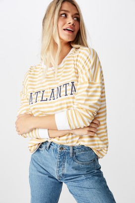 Supre America Eagle Long Sleeve Tee
