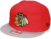 New Era Chicago Blackhawks Team Snap Snapback Cap Kappe 9fifty Basecap Mens