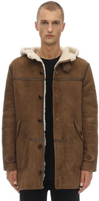 Schott Lc Leather Duffle Jacket