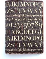Assouline Didot Canvas & Leather Passport Holder
