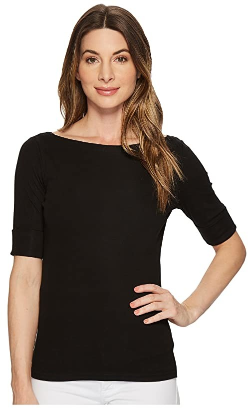 057e87403d Lauren By Ralph Lauren Boat Neck Tops - ShopStyle