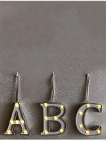 Marks and Spencer A-Z Light-up LED Silver Alphabet Baubles