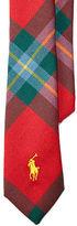 Ralph Lauren Tartan Wool Tie