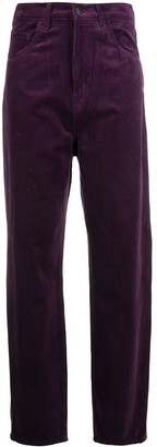 Carhartt Work In Progress Straight-Leg Velvet Trousers