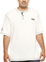 Lee Short-Sleeve USA Henley Tee