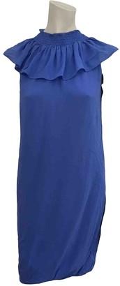 Jasmine Di Milo Blue Silk Dresses
