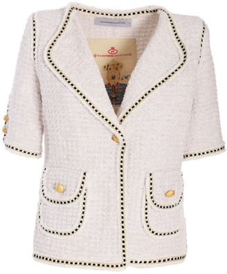 The Extreme Collection Classic Short Sleeve Nude Jacket Blanca