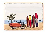 Tory Burch Embroidered Slim Card Case