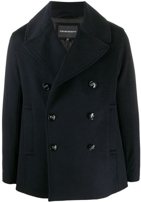 Emporio Armani Double-Breasted Coat