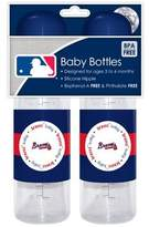 Baby Fanatic 2-pack of Baby Bottles - Atlanta Braves