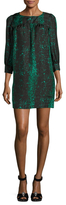 Manoush Silk Python Print Sheath Dress